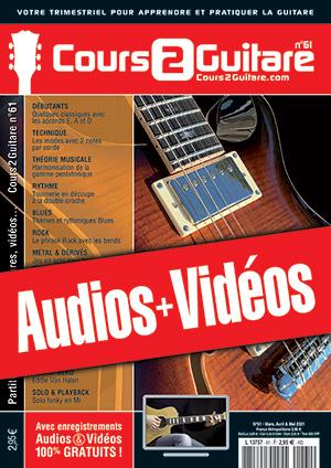 Enregistrements du Cours 2 Guitare n°61