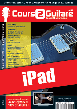 Cours 2 Guitare n°62 (iPad)