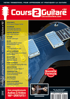 Cours 2 Guitare n°62