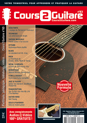 Cours 2 Guitare n°63