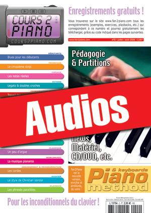 Enregistrements du Cours 2 Piano n°2