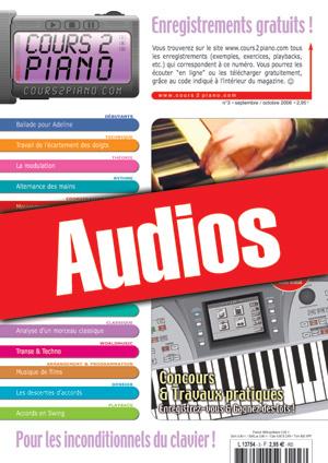 Enregistrements du Cours 2 Piano n°3