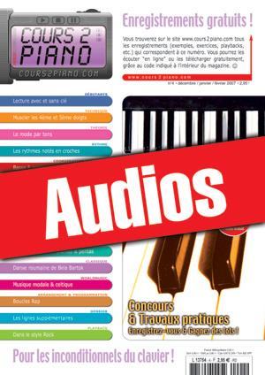 Enregistrements du Cours 2 Piano n°4