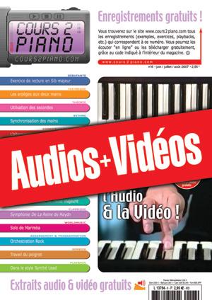 Enregistrements du Cours 2 Piano n°6
