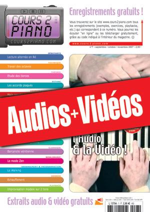 Enregistrements du Cours 2 Piano n°7