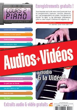 Enregistrements du Cours 2 Piano n°8