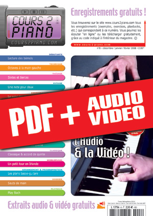 Cours 2 Piano n°8