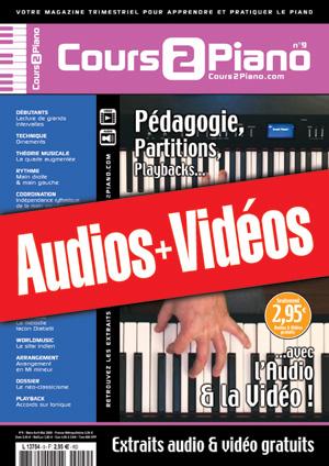 Enregistrements du Cours 2 Piano n°9