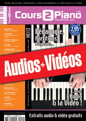 Enregistrements du Cours 2 Piano n°10