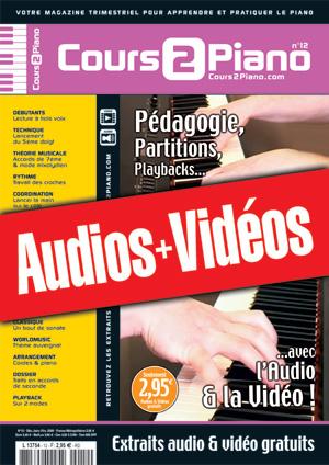 Enregistrements du Cours 2 Piano n°12