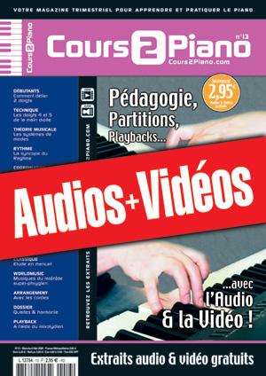 Enregistrements du Cours 2 Piano n°13