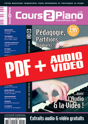 Cours 2 Piano n°13