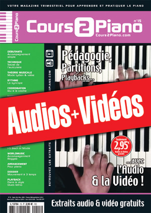 Enregistrements du Cours 2 Piano n°15
