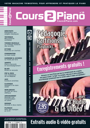 Cours 2 Piano n°18
