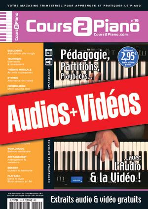 Enregistrements du Cours 2 Piano n°19