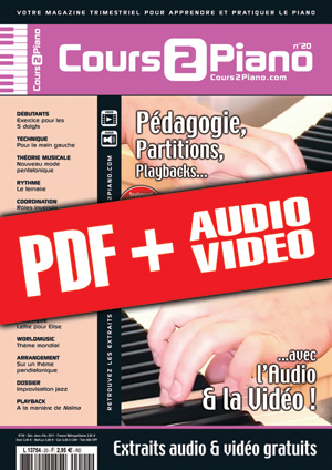 Cours 2 Piano n°20