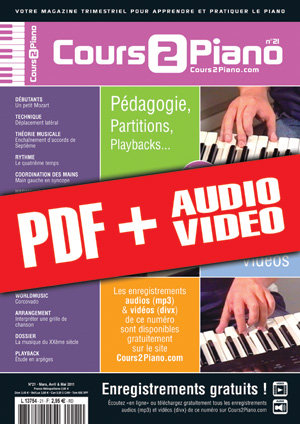 Cours 2 Piano n°21