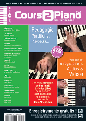 Cours 2 Piano n°22