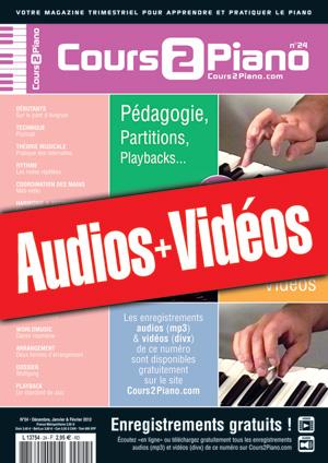 Enregistrements du Cours 2 Piano n°24