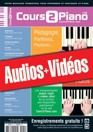Enregistrements du Cours 2 Piano n°25