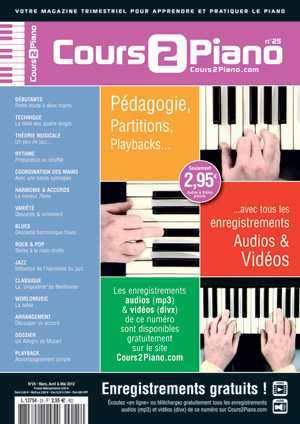 Cours 2 Piano n°25