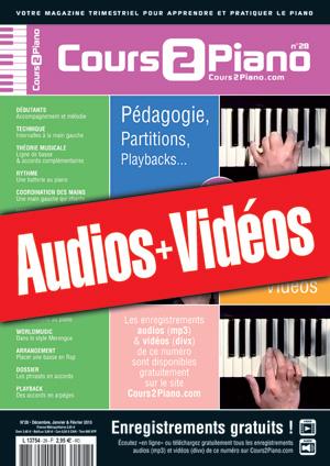 Enregistrements du Cours 2 Piano n°28