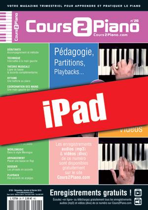 Cours 2 Piano n°28 (iPad)