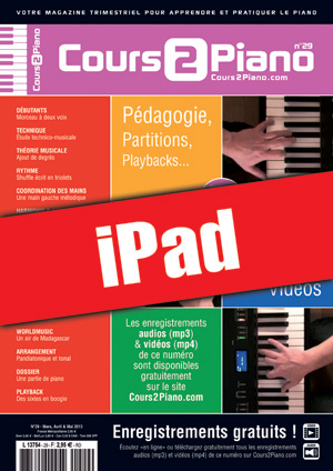Cours 2 Piano n°29 (iPad)