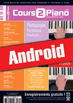 Cours 2 Piano n°30 (Android)