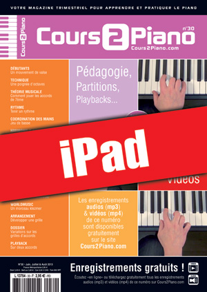 Cours 2 Piano n°30 (iPad)