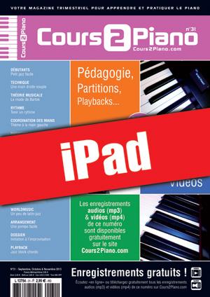 Cours 2 Piano n°31 (iPad)