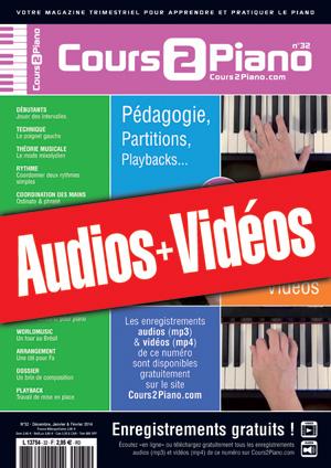 Enregistrements du Cours 2 Piano n°32