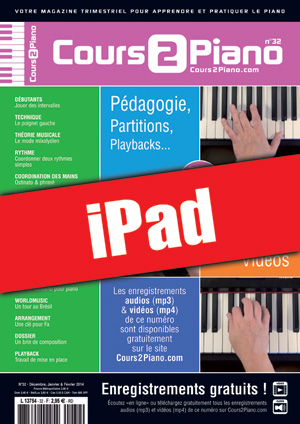 Cours 2 Piano n°32 (iPad)