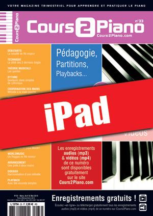 Cours 2 Piano n°33 (iPad)