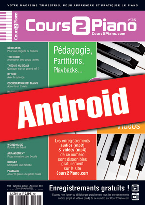 Cours 2 Piano n°35 (Android)
