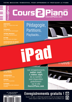 Cours 2 Piano n°37 (iPad)
