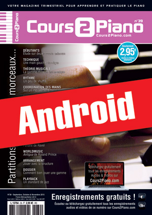 Cours 2 Piano n°39 (Android)