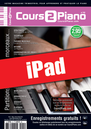 Cours 2 Piano n°41 (iPad)