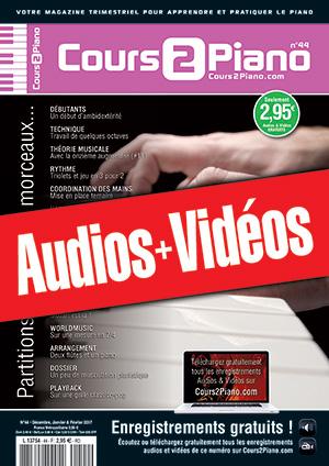 Enregistrements du Cours 2 Piano n°44