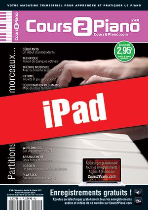 Cours 2 Piano n°44 (iPad)