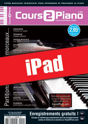 Cours 2 Piano n°45 (iPad)