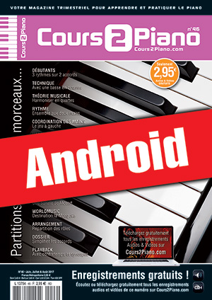 Cours 2 Piano n°46 (Android)