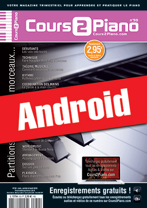 Cours 2 Piano n°50 (Android)