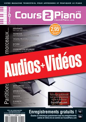 Enregistrements du Cours 2 Piano n°50