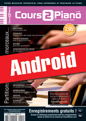 Cours 2 Piano n°51 (Android)