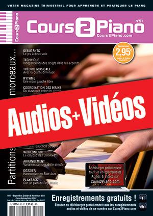 Enregistrements du Cours 2 Piano n°51