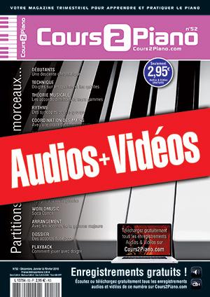 Enregistrements du Cours 2 Piano n°52