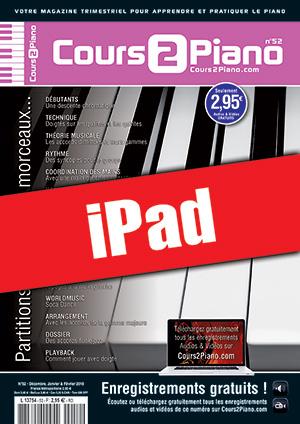 Cours 2 Piano n°52 (iPad)