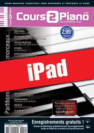 Cours 2 Piano n°54 (iPad)