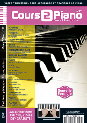 Cours 2 Piano n°57